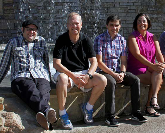 world numismatic team - kent, cory, carlos and emily