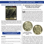 World Numismatic November 2017 newsletter